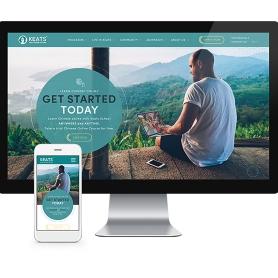 响应式网站建设- Flow Asia