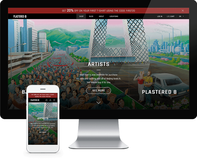 创可贴8的网页设计与网站建设-Flow Asia