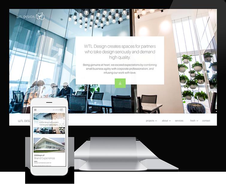 WTL Design的网页设计与网站建设-Flow Asia