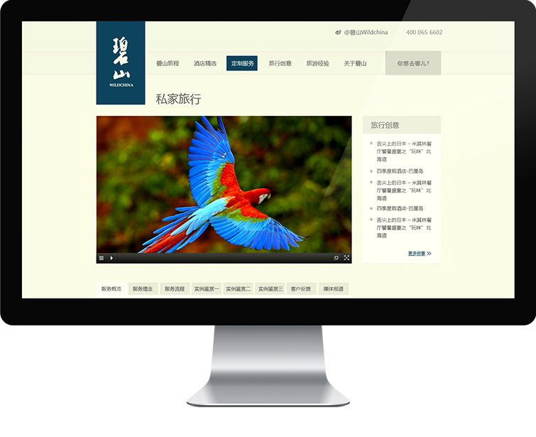 碧山网站网站设计-Flow Asia