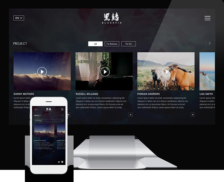 黑鳍的网站设计-Flow Asia