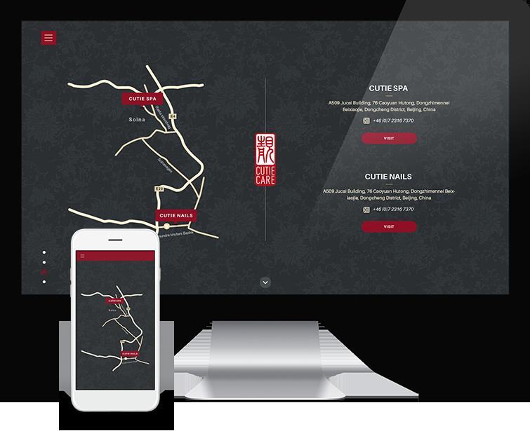 可爱美甲网站设计-Flow Asia