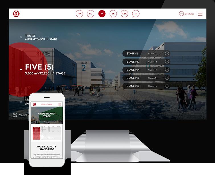 青岛万达影视产业园自适应网站建设02-Flow Asia