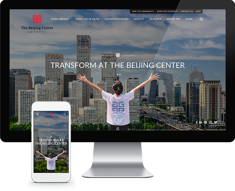 北京中国学中心自适应网站建设01-Flow Asia
