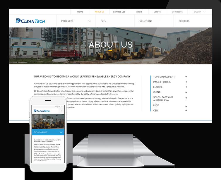 北京德普新源科技发展有限公司的网站设计-Flow Asia