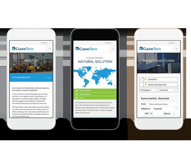 北京德普新源科技发展有限公司的手机网站建设-Flow Asia