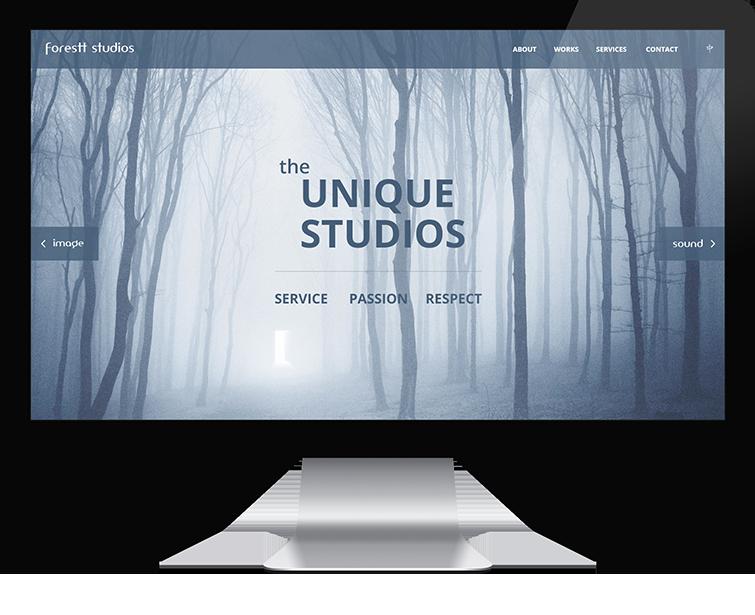 画林映像的网站设计-Flow Asia