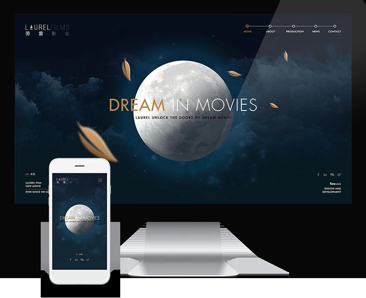 劳雷影业的自适应网站建设-Flow Asia