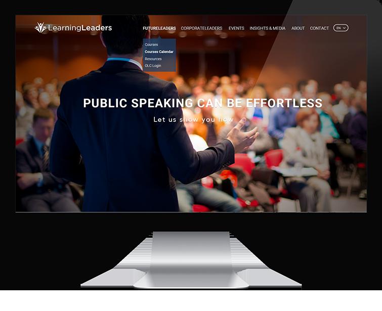 Learning Leaders的网页设计与网站建设-Flow Asia