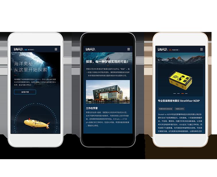 美国劳雷工业手机网站建设-Flow Asia