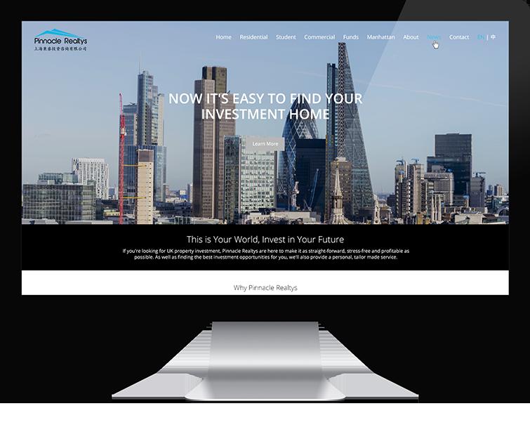 上海秉睿投资咨询有限公司的网站设计-Flow Asia