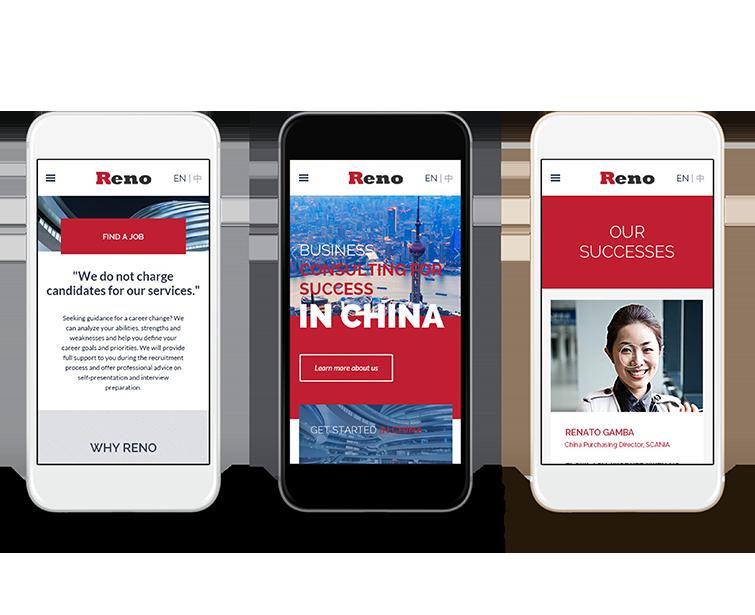 Reno的手机网站建设-Flow Asia