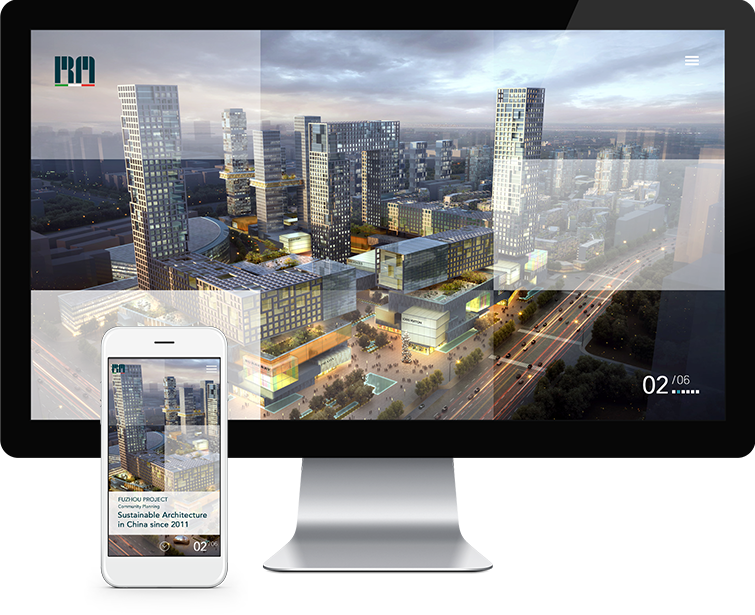 睿琪马克建筑设计咨询有限公司网页设计与网站建设01-Flow