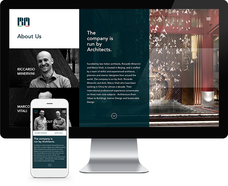 睿琪马克建筑设计咨询有限公司网页设计与网站建设02-Flow