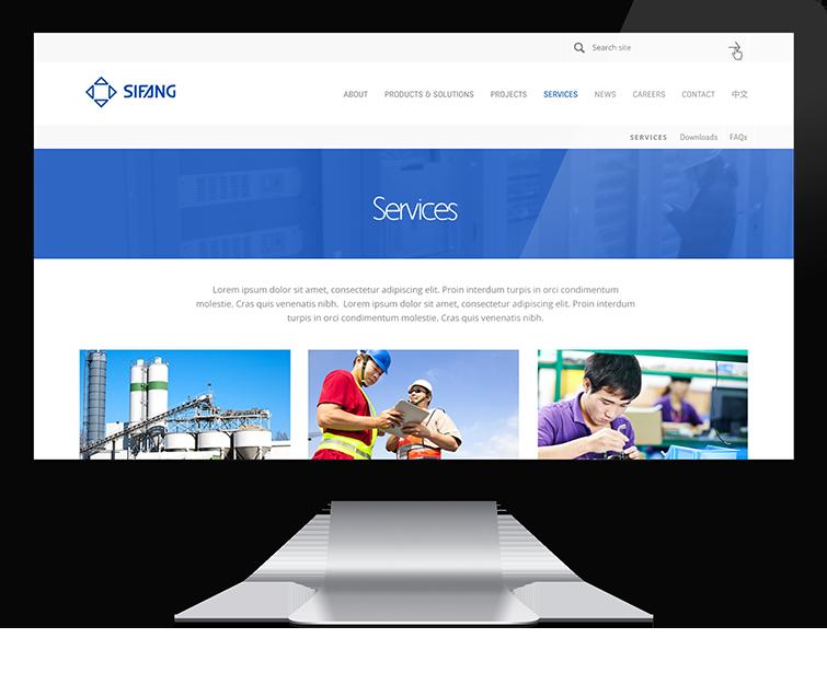 四方集团网页设计与网站建设02-Flow Asia
