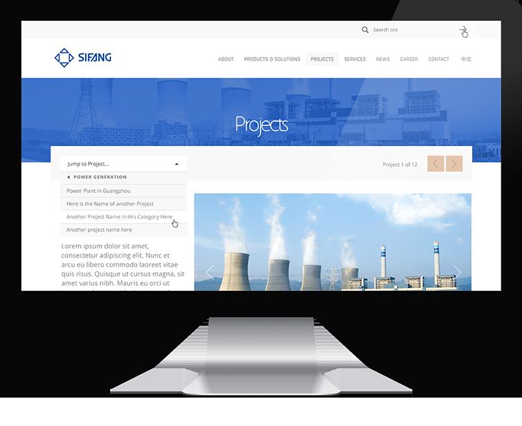四方集团网页设计与网站建设03-Flow Asia