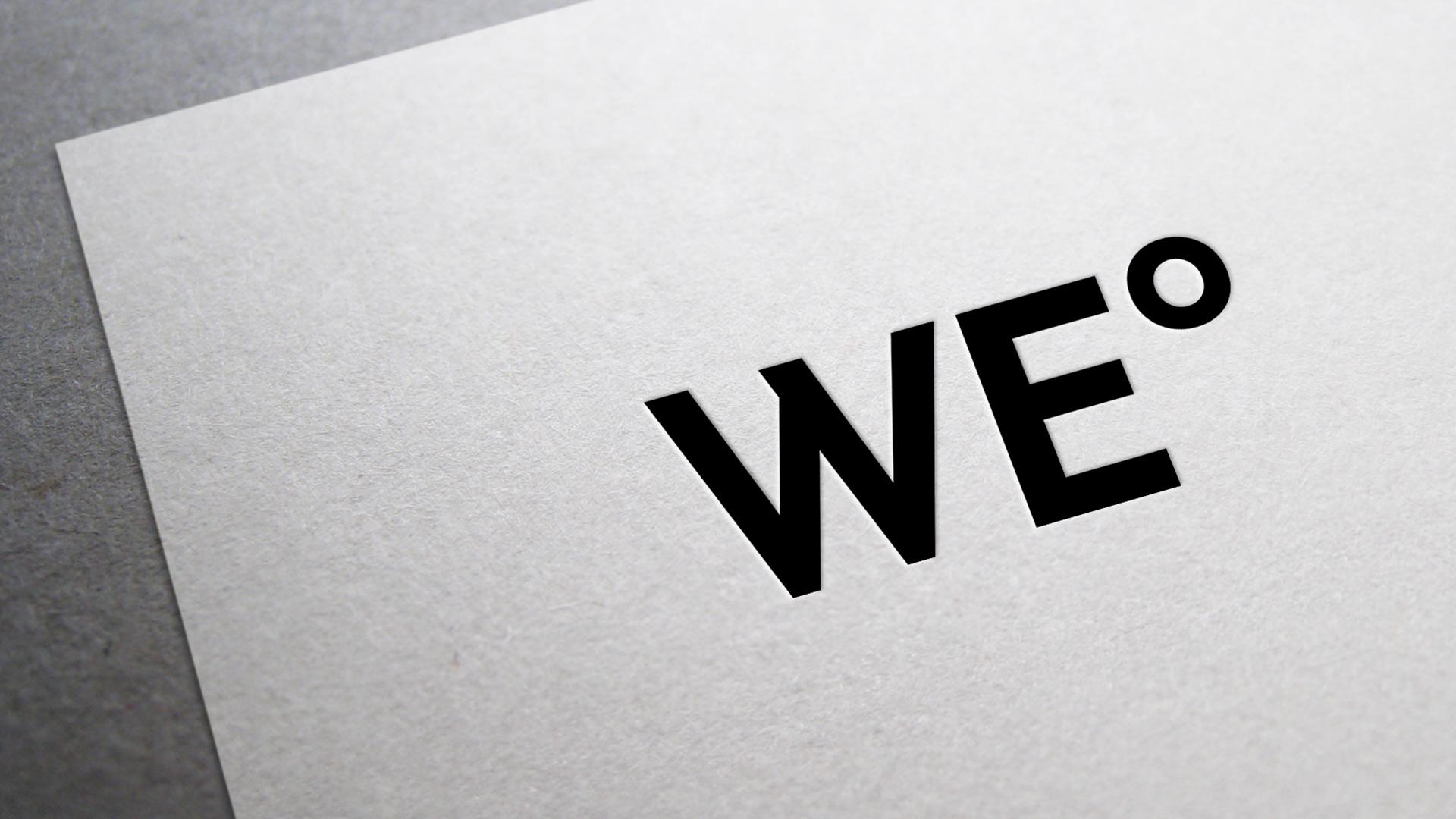 WE° 网站的logo设计效果-Flow Asia