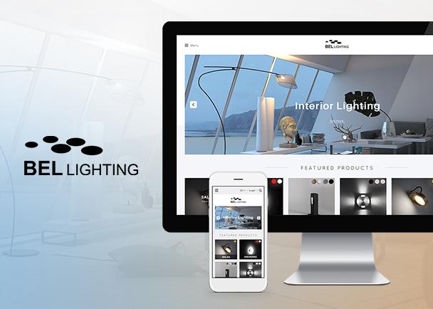Bel Lighting的网站建设-Flow Asia