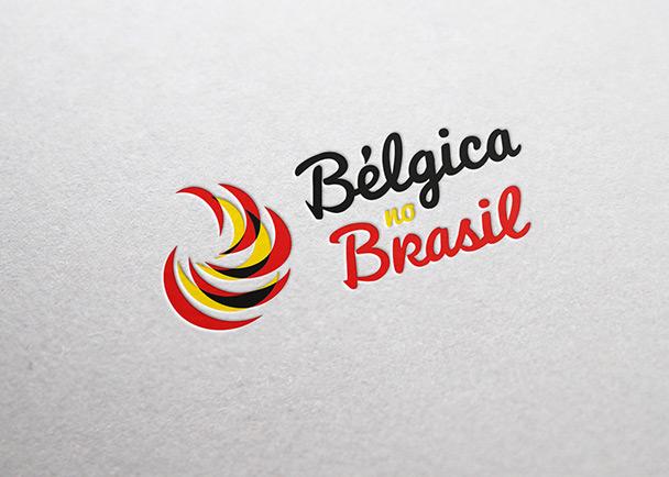 比利时驻巴西领事馆logo设计-Flow Asia