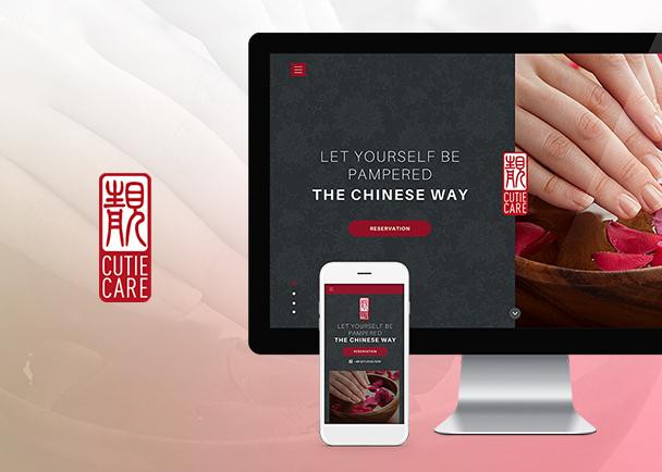 可爱美甲网站建设-Flow Asia