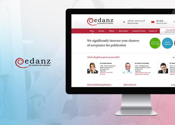 Edanz的网站建设-Flow Asia