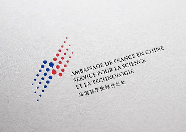 法国驻北京大使馆 VI 设计-Flow Asia