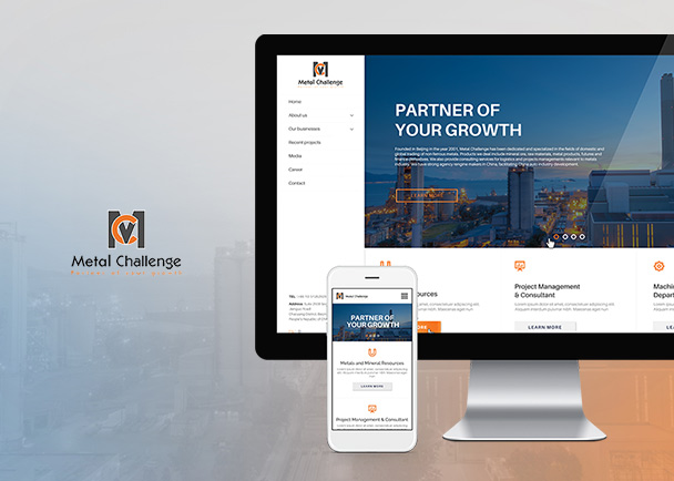 Metal Challenge的网站建设-Flow Asia